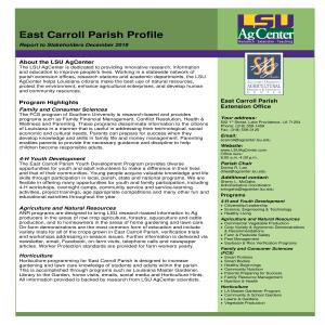 East Carroll Parish Profile 2019pdfpdf thumbnail