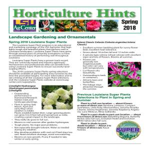 Horticulture Hints Spring 2018pdf thumbnail
