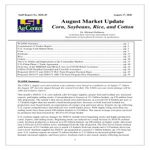 August 2020 Crop Market Updatepdf thumbnail