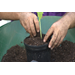 Use compost to replenish your potting soil