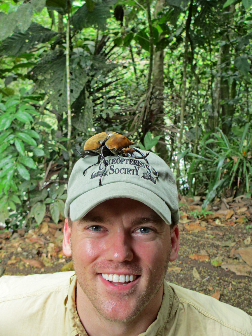 Nathan Lord with elephant beetle.jpg thumbnail