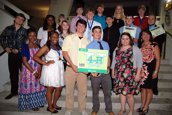 Bossier Parish 4-H U Participants
