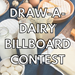 Draw-A-Dairy Billboard Contest