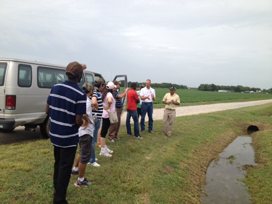 GSD members at Rice Research Station Field Day in Crowley, LA
