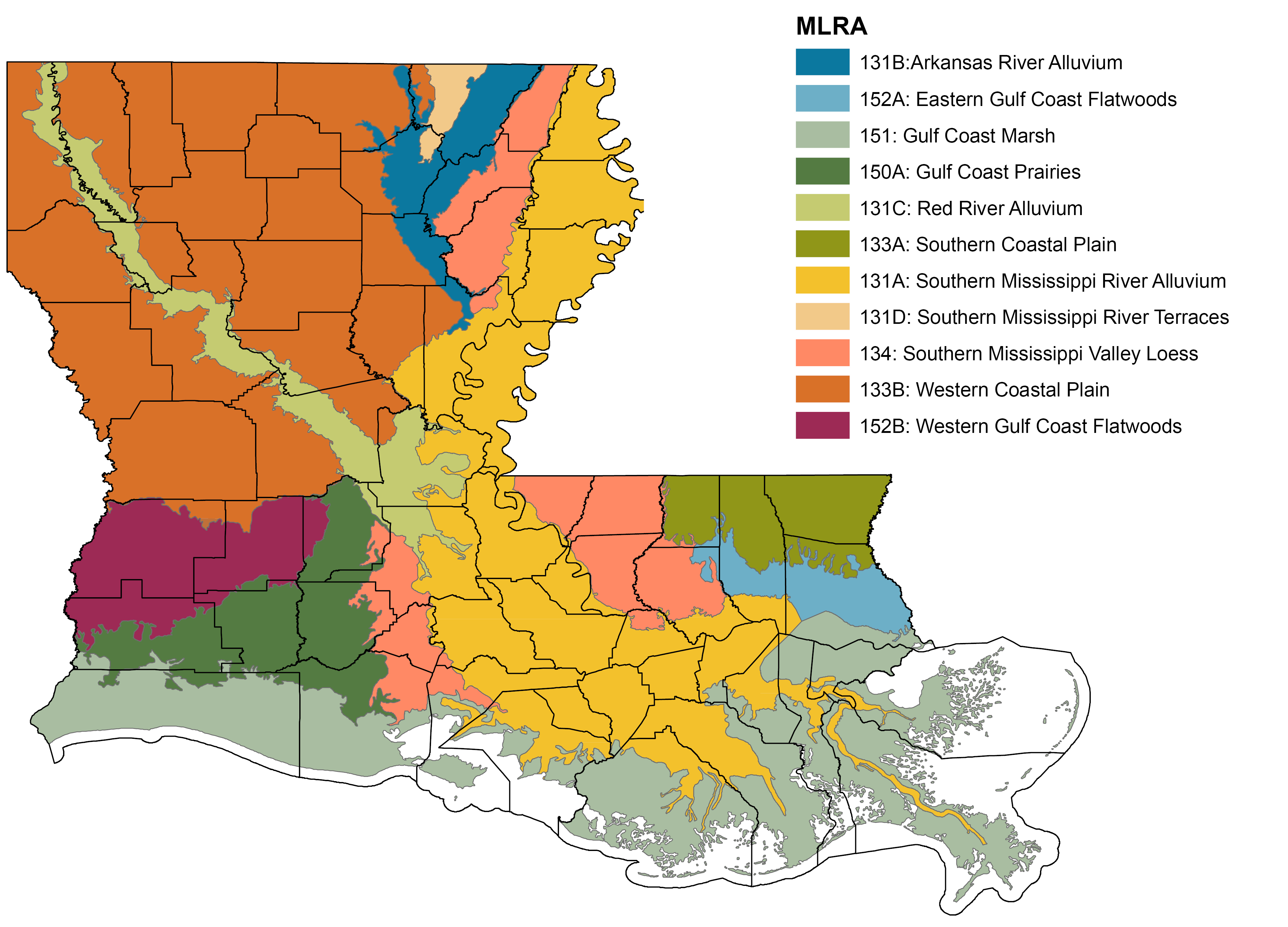 An Overview Of Louisiana Soils