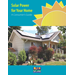 Solar Power for Your Home:  A Consumer's Guide